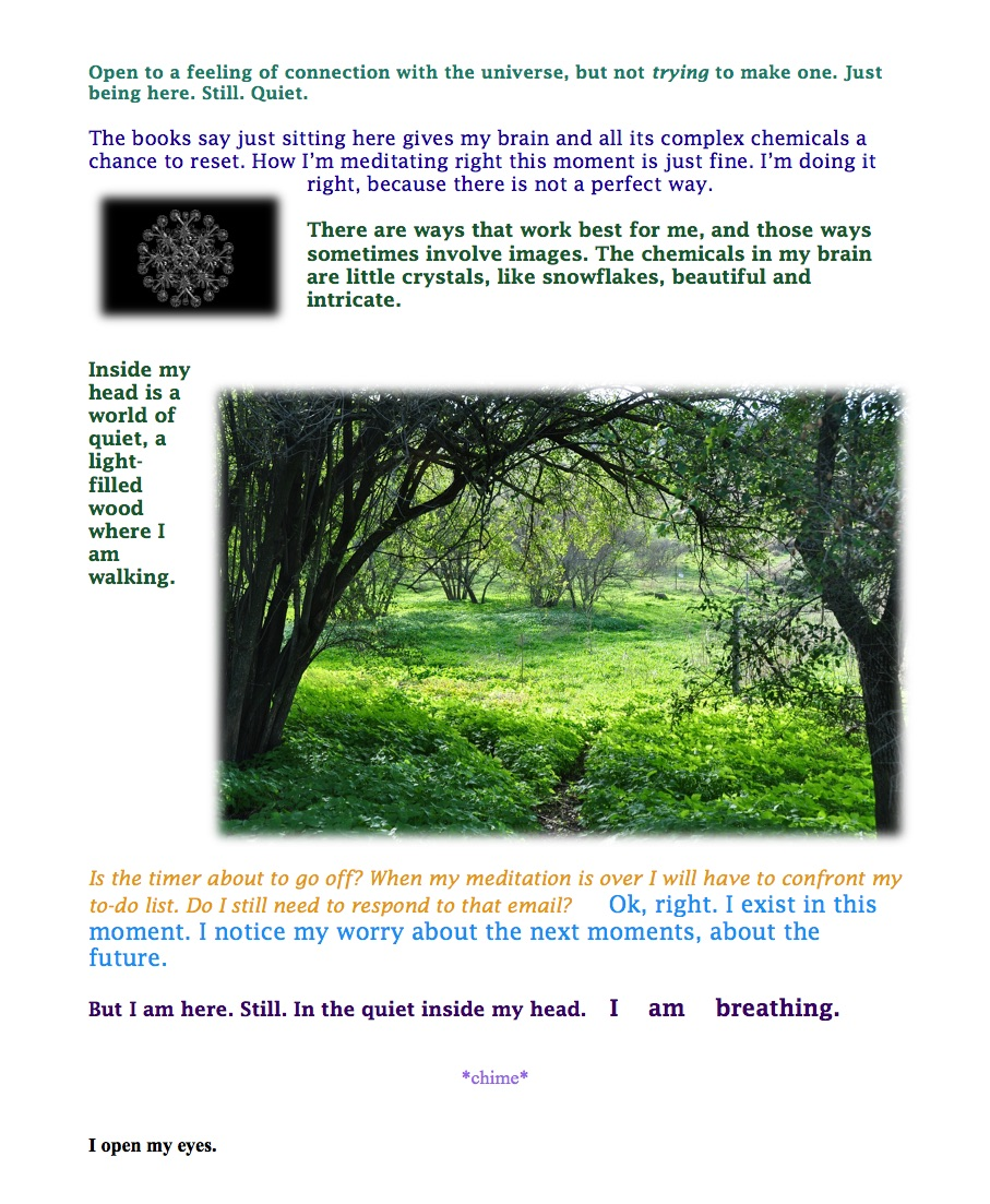 visual meditation 2 2nd