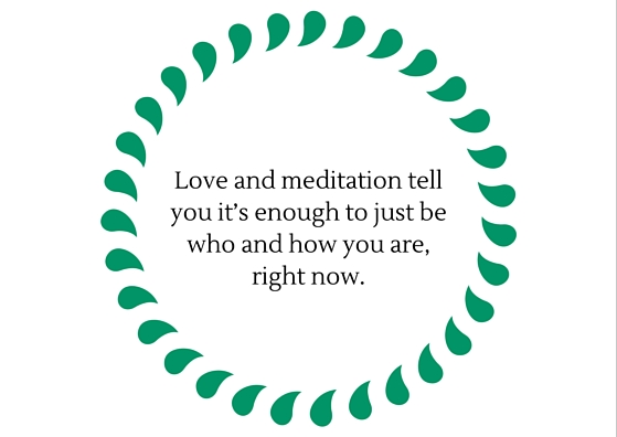 Love and meditation